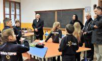29 nov Paderno del Grappa Fratel Schieler incontra i bambini della primaria