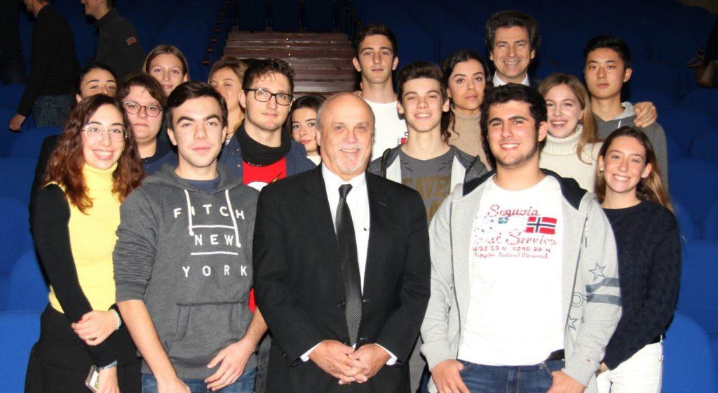 30 nov 2017 - Fratel Robert Schieler in visita al Gonzaga di Milano