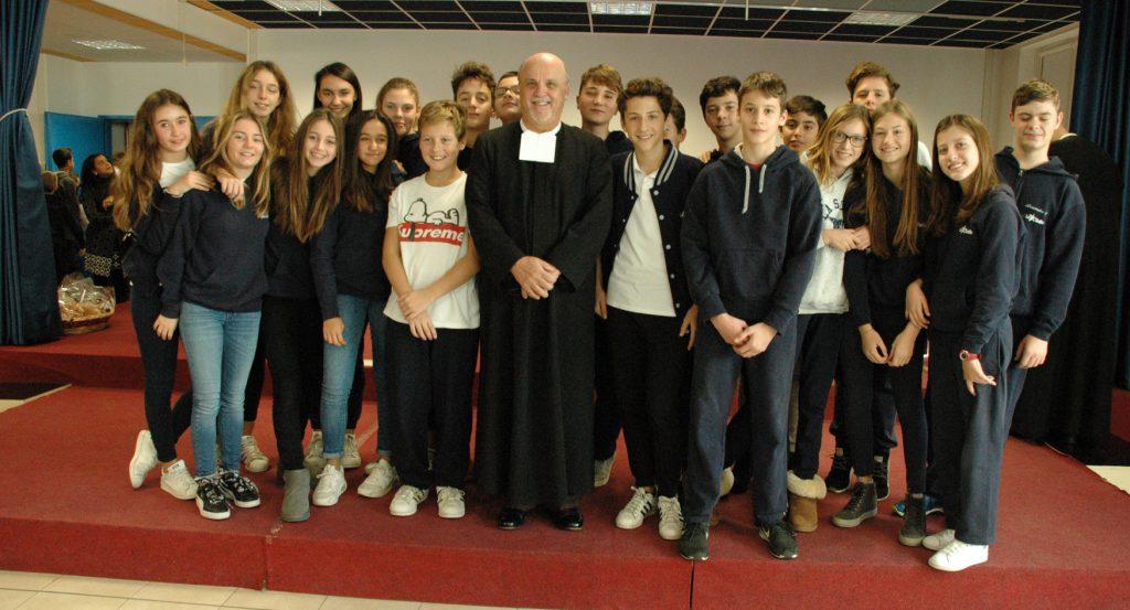 27 nov Il Superiore Generale in visita all'Istituto La Salle di Parma