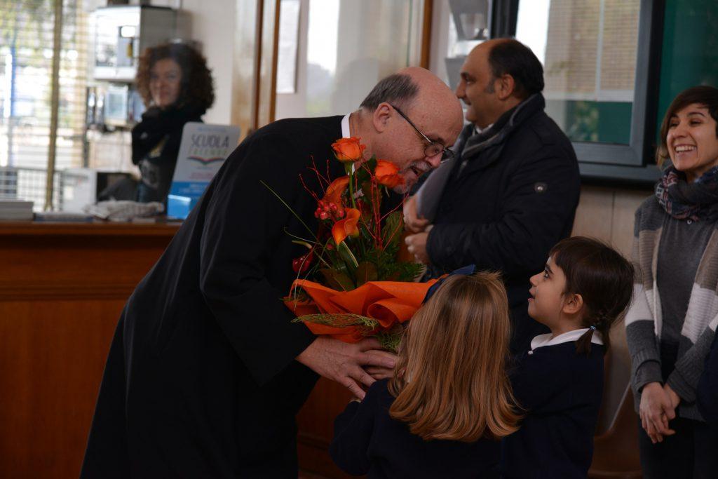 22 gen - Fratel Schieler in visita all'Istituto Pio XII