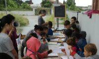 Giugliano, Napoli - Station School per bimbi rom