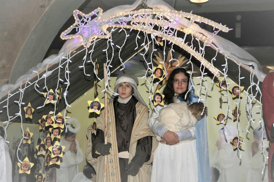 Presepe Vivente: Scuole Cristiane di Vercelli